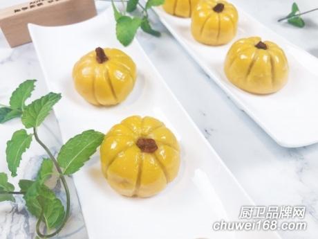 奥田集成灶|椰香南瓜紫薯糯米糍美食烹饪教程