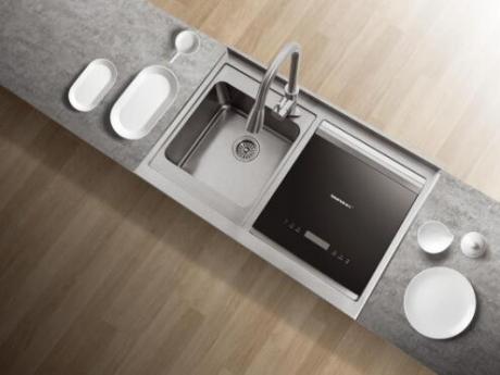 你家的洗碗机油腻吗?帅丰水槽洗碗机:告别油腻体验